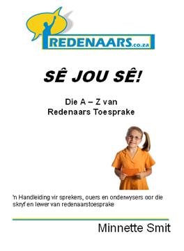 """Picture of """"A-Z van Redenaars Toesprake"""" - Harde Kopie Boek"""