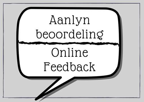 Aanlyn beoordeling / Online feedback
